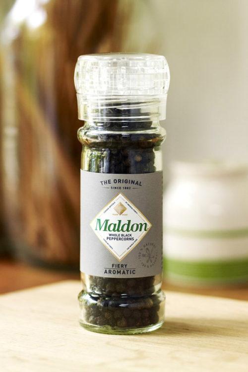 Maldon Salt pepper grinder