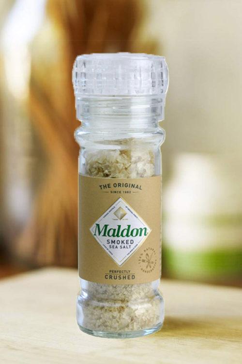 Smoked Maldon Salt grinder